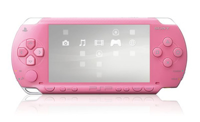 Sony PSP 2006 Slim & Lite Rose Pink (розовая)